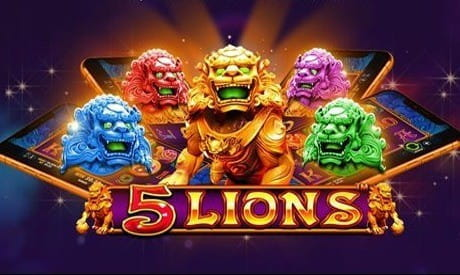 Image showing the 5 Lions slot