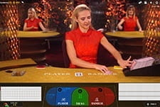 A small image showing a live dealer at Fun Casino.