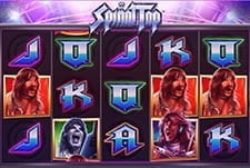 A small screenshot showing the Spinal Tap slot game at Fun Casino.