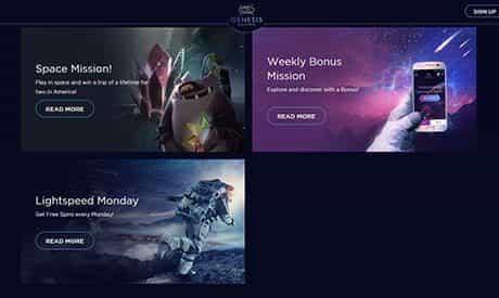 Genesis Casino-Promotions