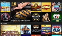 bwin casino's game library.