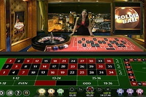 Live Golden Ball Roulette from Extreme Live Gaming at Mr Green