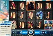 Play Guns'n Roses slot at Arcade Spins Casino