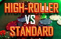 High Roller vs Standard Baccarat Games