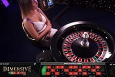 Live Roulette at Hippodrome casino.