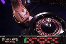 Live Roulette at Hippodrome casino.