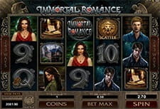 Play Immortal Romance slot at SlotsMagic Casino