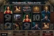Play Immortal Romance slot at SlotsMagic Casino
