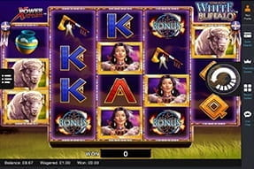 White Buffalo Available on InterCasino Mobile