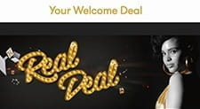 The welcome bonus at InterCasino is the real deal.