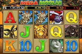 Mega Moolah Jackpot Slot Available on 32Red Mobile