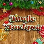 The Jingle Jackpot slot game logo
