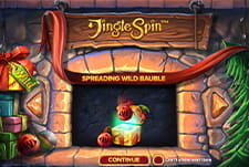 Play Jingle Spin slot at Rise Casino