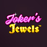 A Joker's Jewels slot game image.