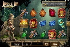 Play Jungle Jim El Dorado slot at Midaur Casino