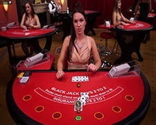 Live Blackjack at Karamba
