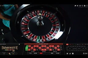 Play Live Immersive Roulette at Karamba
