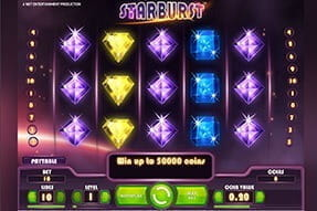 Play Starburst on the Karamba App