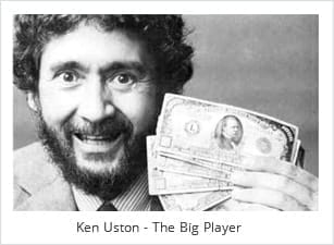 "Ken Uston Wrote the Book ""The Big Player"" about Team Card Couting"