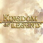 The Kingdom of Legends slot game logo