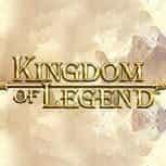 The Kingdom of Legends slot game logo