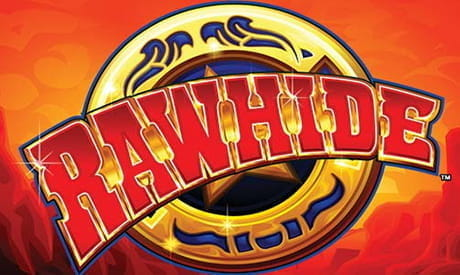 The Konami Rawhide slot mid-game.