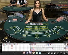 Preview of Live Baccarat at Ladbrokes Casino
