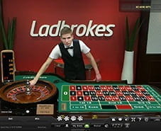 Preview of Live Roulette at Ladbrokes Casino