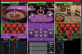 Multiple live games on-screen at the same time at Ladbrokes casino