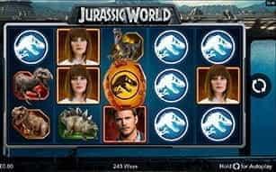 LeoVegas Casino's Jurassic World slot on mobile.