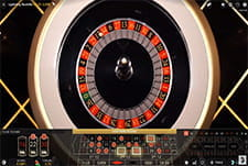 Lightning Roulette live casino game at Jonny Jackpot.