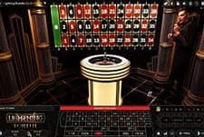 Play Live Lightning Roulette at All British Casino