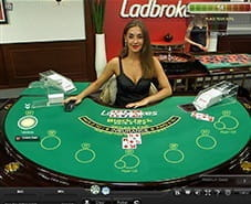Preview of Live Blackjack at Ladbrokes Casino