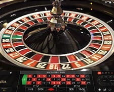 Image of a live roulette game at bwin casino