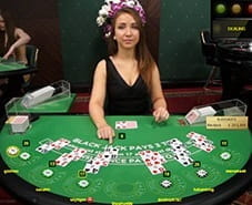 Live Dealer Blackjack at LeoVegas