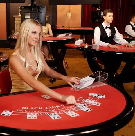 Specialised Studios are used to Stream Live Blackjack for Optimum Quality