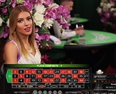 Live Dealer Roulette at LeoVegas