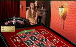 Live French Roulette by Evolution Gaming at LeoVegas
