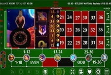 Play Live Wolf Gold Roulette at Party Casino