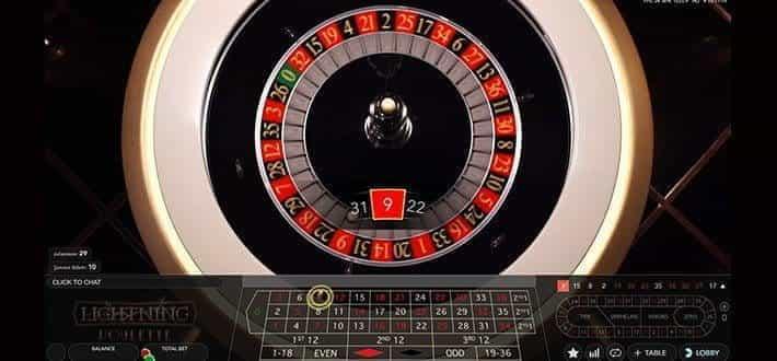 Lightning roulette auf alle zahlen setzen
