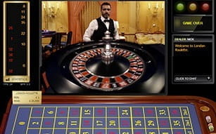 London Roulette at LeoVegas Casino Live