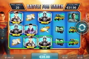 The Man of Steel slot is available on the Ladbrokes Casino app