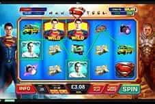 Preview of Man of Steel Slot at Ladbrokes Casino