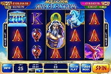 Age of Gods Slot at Mansion Casino