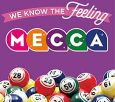 Welcome Offers from Mecca Bingo