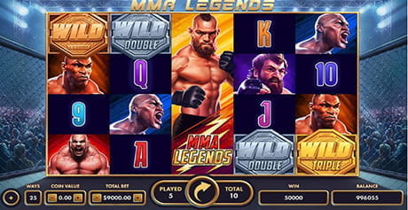 The MMA Legends game from Netgame.