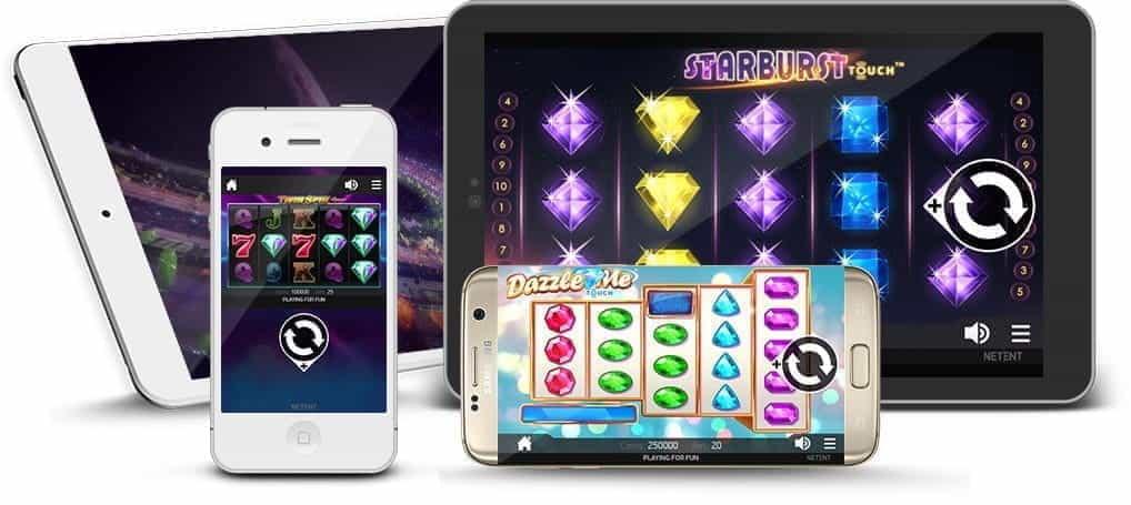Montage von mobilen Kasinospielen auf verschiedenen Geräten