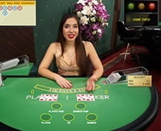 Preview of Live Baccarat at Mr Green Casino