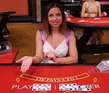 A live dealer at Mr Green casino