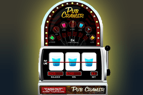 x80 Multiplier Blue Drink on the Pub Crawler Demo Slot